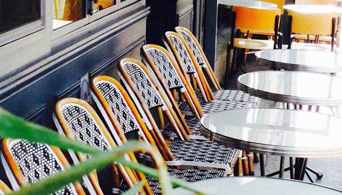 La Seine Café Terrasse Paris
