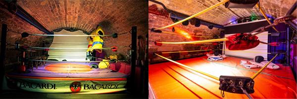 La Lucha Libre - Ring Bar - Paris 5
