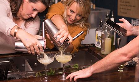 Cours de cocktails à Paris
